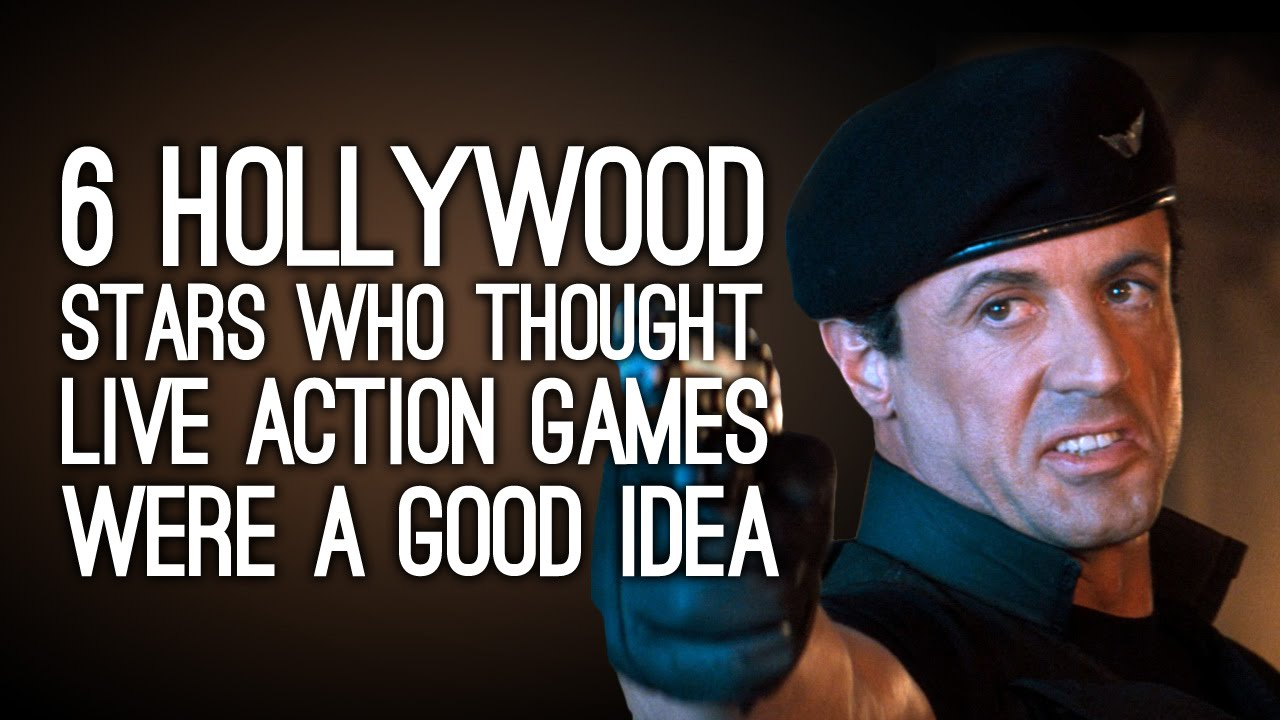 6 Hollywood Stars Who Thought Live-Action Games Were a Good Idea