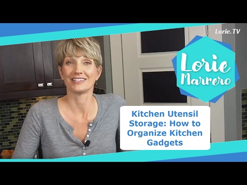 Kitchen Utensil Storage: How To Organize Kitchen Gadgets