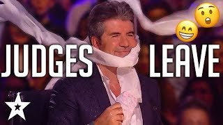 Video ANGRY AUDITIONS | When JUDGES LEAVE On Got Talent! | Got Talent Global MP3, 3GP, MP4, WEBM, AVI, FLV Agustus 2019