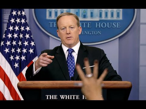 LISTEN LIVE: White House Press Secretary Sean Spicer holds off-camera gaggle