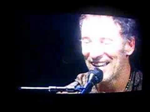 Spirit in the night - Bruce springsteen (live in Barcelona)