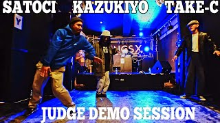 TAKE-C, KAZUKIYO, Satoci – 神戸deバトル FREESTYLE side JUDGE DEMO SESSION