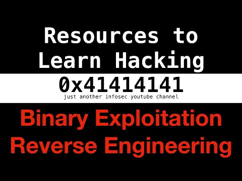 #0 - Resources to Learn Hacking