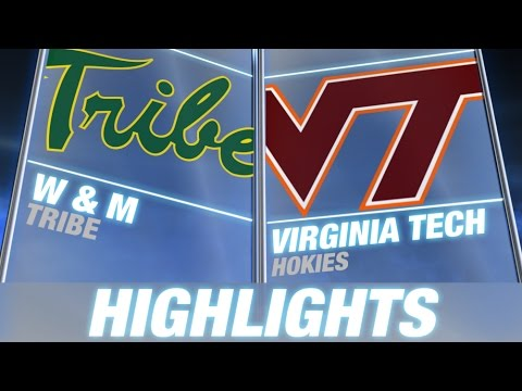 Virginia - Beamer Ball is back as the Virginia Tech Hokies take on William & Mary at Lane Stadium. New quarterback Michael Brewer has an impressive debut as he throws for 251 yards and 2 TD! SUBSCRIBE:...