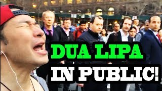 "Video Dua Lipa - ""New Rules"" and ""IDGAF"" - SINGING IN PUBLIC!! MP3, 3GP, MP4, WEBM, AVI, FLV Agustus 2018"