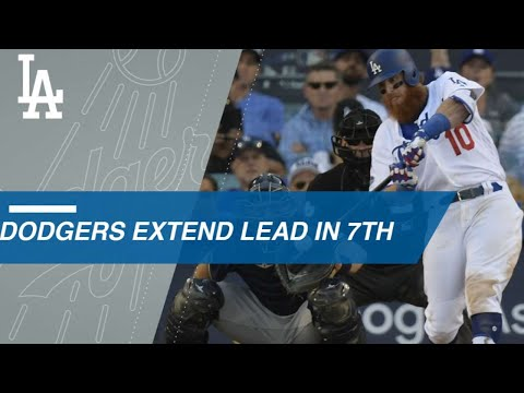 Video: Turner and Dozier extend the Dodgers' lead in the 7th