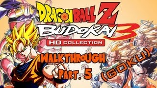 Dragon Ball Z HD Collection Walkthrough - Budokai 3 (Goku) Pt. 5