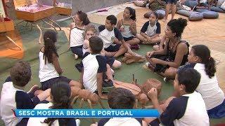 Exposição mostra as curiosidades entre Brasil e Portugal de forma lúdica
