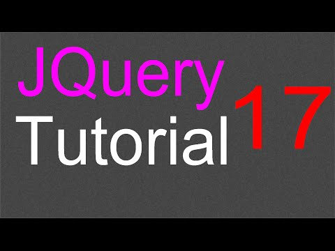 Attribute methods in Jquery