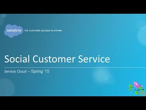 Spring '15 - Service Cloud: Social Customer Service