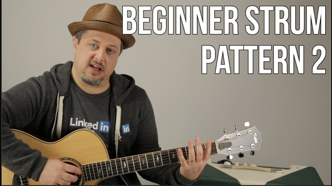 Beginner Strumming Patterns For Acoustic Guitar Pattern 2 – Beginner Guitar Lessons