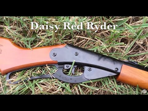 REVIEW - Daisy Red Ryder - Back Yard BB Airgun - Classic