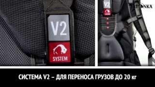 Туристический  рюкзак для девушек. Объем 50+10л.  Tatonka Sylan 50