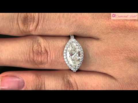 GIA 2 01CT ESTATE VINTAGE MARQUISE DIAMOND ENGAGEMENT WEDDING RING PLATINUM