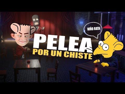 PELEA DE NIÑOS RATA POR CONTAR CHISTES | COMEDY NIGHT
