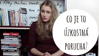 Co je to úzkostná porucha?