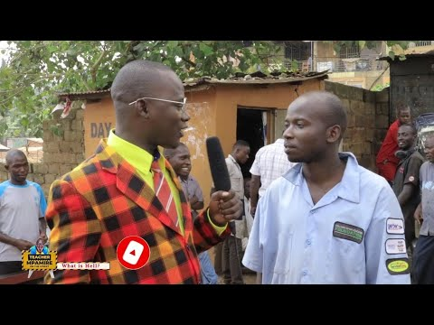 Have you ever been to heaven / Teacher Mpamire On the Street/ Funny African Videos/ African Comedy
