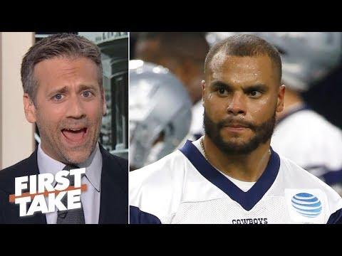 Video: Dak Prescott isn't elite, so the Cowboys shouldn't overpay him - Max Kellerman | First Take