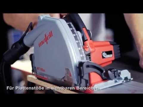 Видео Пила погружная Mafell MT 55 cc MaxiMAX с шиной F 160