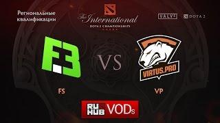 Flip.Sid3 vs Virtus.Pro, game 1