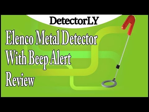 Elenco Metal Detector With Beep Alert Review