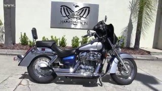 9. Used 2009 Honda Shadow 750 Motorbike