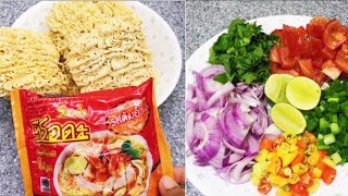 Resepi Kerabu maggi Thai - yam mama