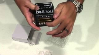 10A 12V/24V Solar Charge Controller Solar Panel Battery Regulator Safe Protection Unboxing