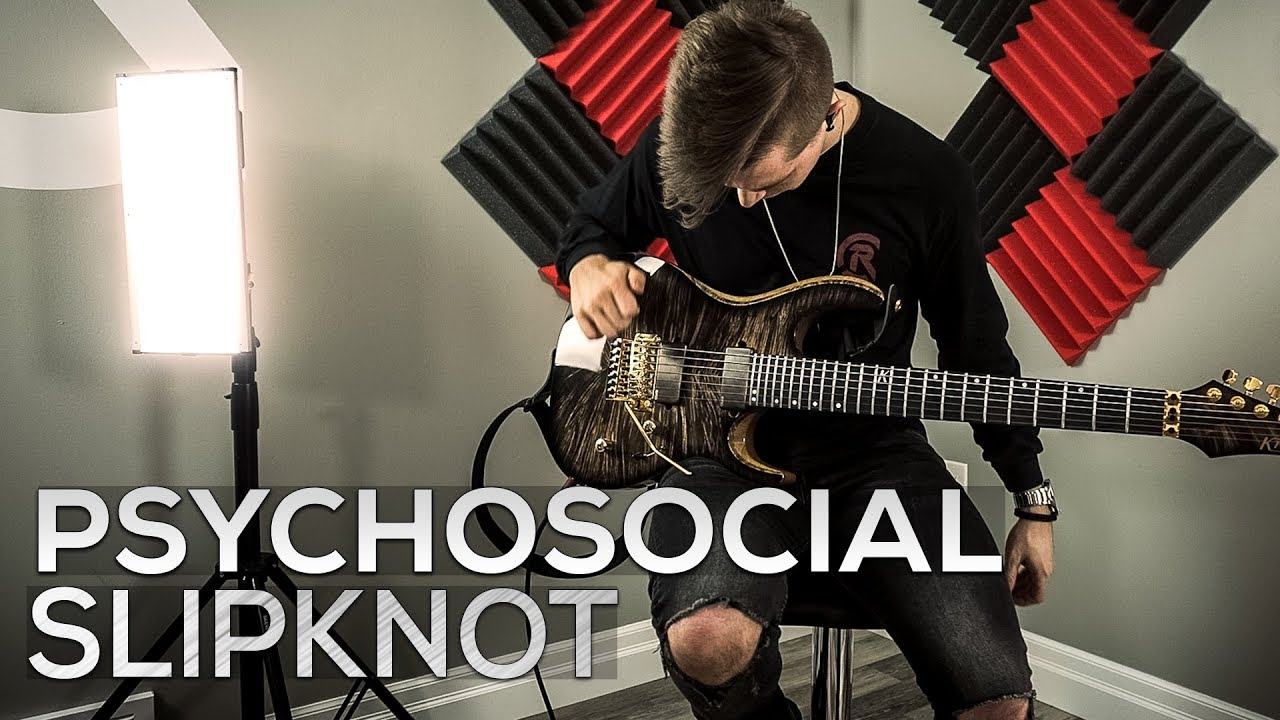 Slipknot – Psychosocial – Cole Rolland (Guitar Cover)