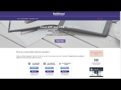 DoliCloud ERP