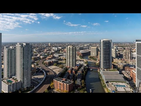 Tour a sunset-view penthouse at the new Wolf Point West apartment tower
