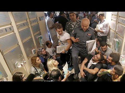 Λίβανος: Κατάληψη από ακτιβιστές λόγω σκουπιδιών