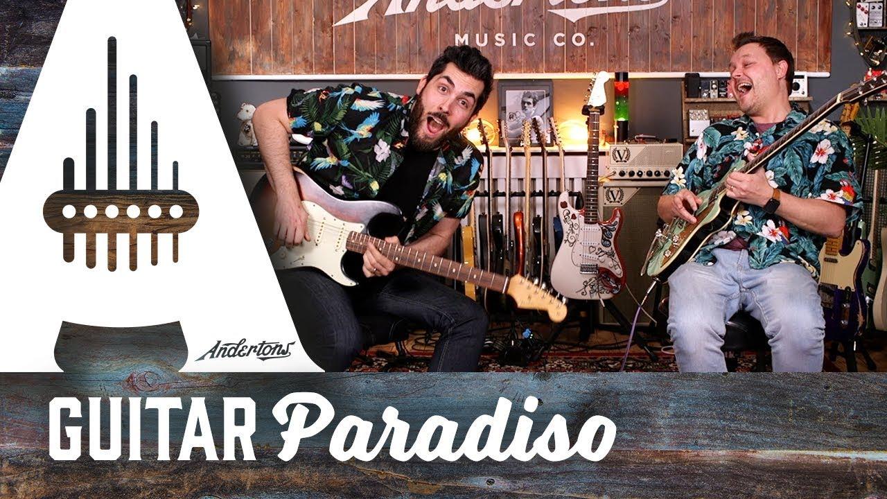 Orange Mayermalade – Andertons Guitar Jam Tracks with Ariel and Pete