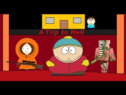 South Park in Minecraft Season 1 Episode 5: A Trip to Hell