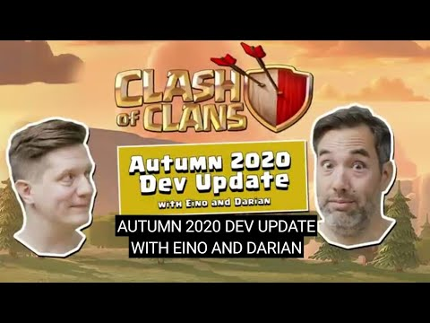 UPDATE TODAY ! clash of clan's dev update. (autumn update) clash-o-ween.🎃🎃