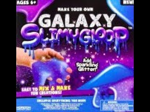 Make Your Own Galaxy SlimyGloop Review Kit