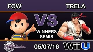 The best Ryu (Trela) vs the best Ness (Fow) in the world at 2GGT Fresh Saga