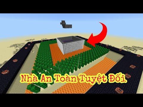 XÂY CĂN NHÀ KIÊN CỐ VÀ AN TOÀN NHẤT TRONG MINECRAFT POCKET EDITION | Minecraft PE 1.1.0.9 - Thời lượng: 6:56.