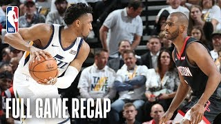 ROCKETS vs JAZZ   Donovan Mitchell Goes OFF in MONSTER 4th Quarter!   Game 4 by NBA