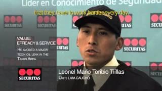 SECURITAS PERÚ - IV EDICIÓN DEL PREMIO VALORES SECURITAS (SETIEMBRE 2010)