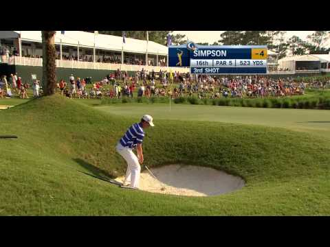 1st round highlights from the 2013 Players championship