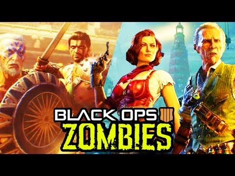 NEW BO4 ZOMBIES SECRETS LEAKED: MORE REMASTERS, MAP SIZES & MUCH MORE! (Black Ops 4 Zombies) (видео)
