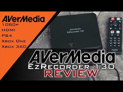 AverMedia EzRecorder 130 Review and demonstration