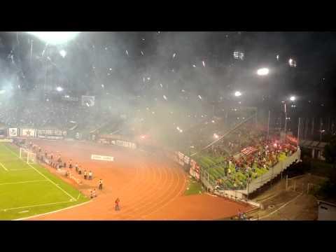 Ojitos Chinos - La Barra Del Caracas FC - Los Demonios Rojos - Caracas