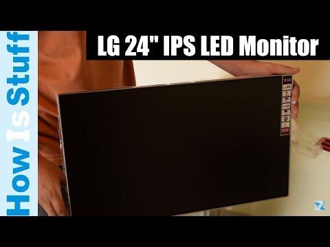 Unboxing LG 24