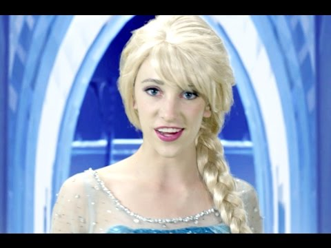 Frozen Let it Go – In Real Life