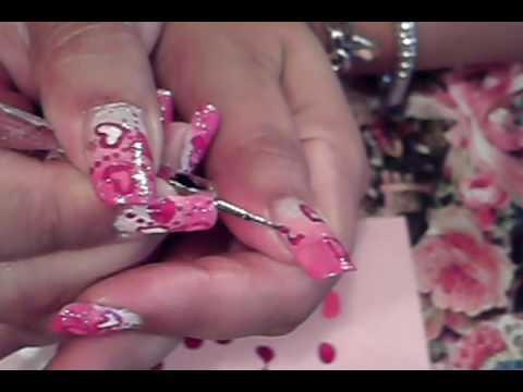 Pink Nail Polish Designs. THIS NAIL ART TUTORIAL WAS