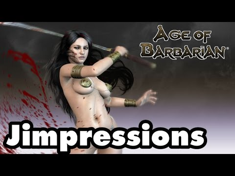 AGE OF BARBARIAN EXTENDED CUT - Blood, Butts, And Nip Slips