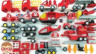 Fire Truck Assembly Video for Children | Fire engines for children | Build and Play Toys for Kids