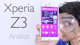 Sony Xperia Z3: Análisis y Opiniones (en Español)